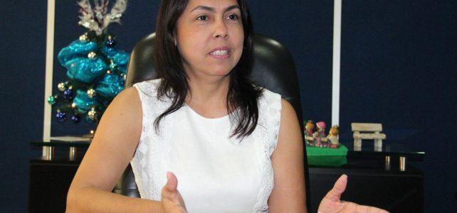 Mónica Jurado Márquez, encargada de la ESE Cartagena de Indias