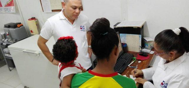 Más de 600 urgencias presentadas durante Fin de año en Centros de atención de la ESE Cartagena de Indias