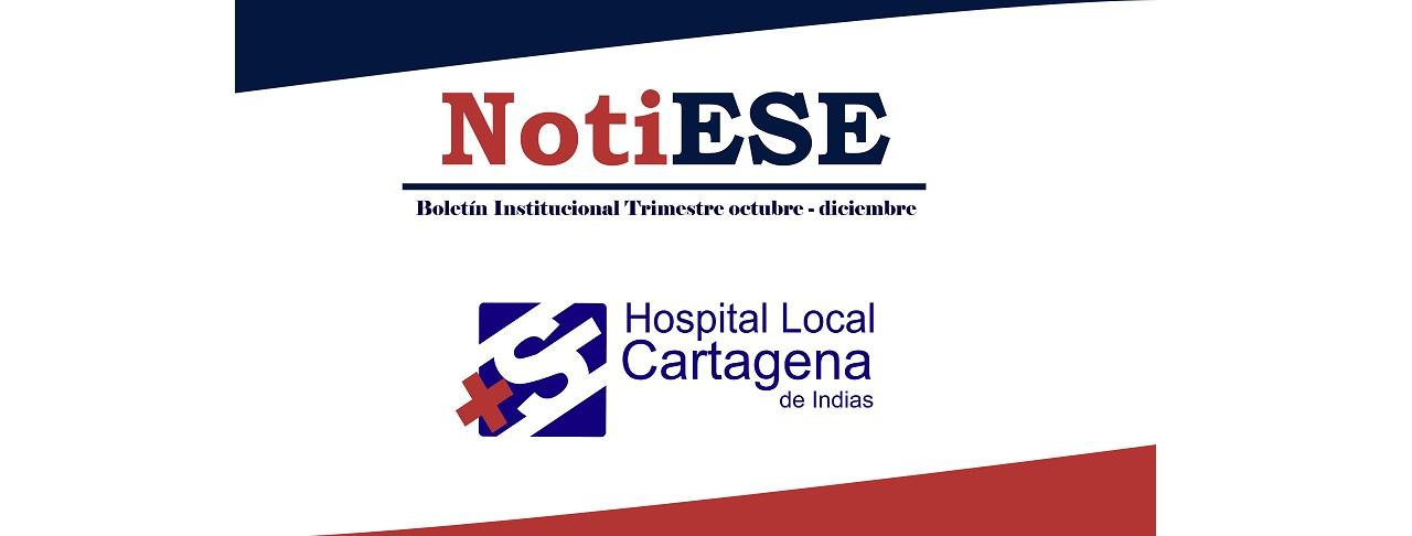 Boletín institucional NotiESE Octubre-Diciembre