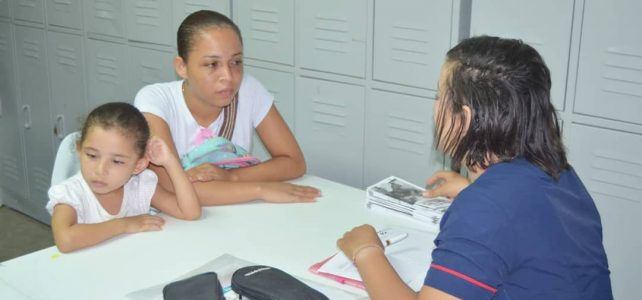 Plan de emergencia social en Bicentenario.