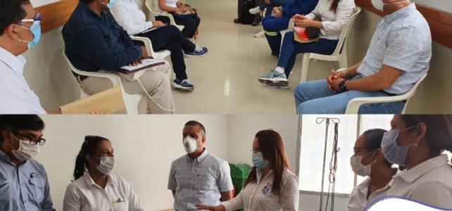 Visita técnica en el Hospital de Arroz Barato.