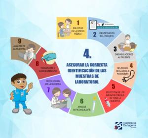 Cartilla - 4to proceso seguro - Identificación de toma de muestras